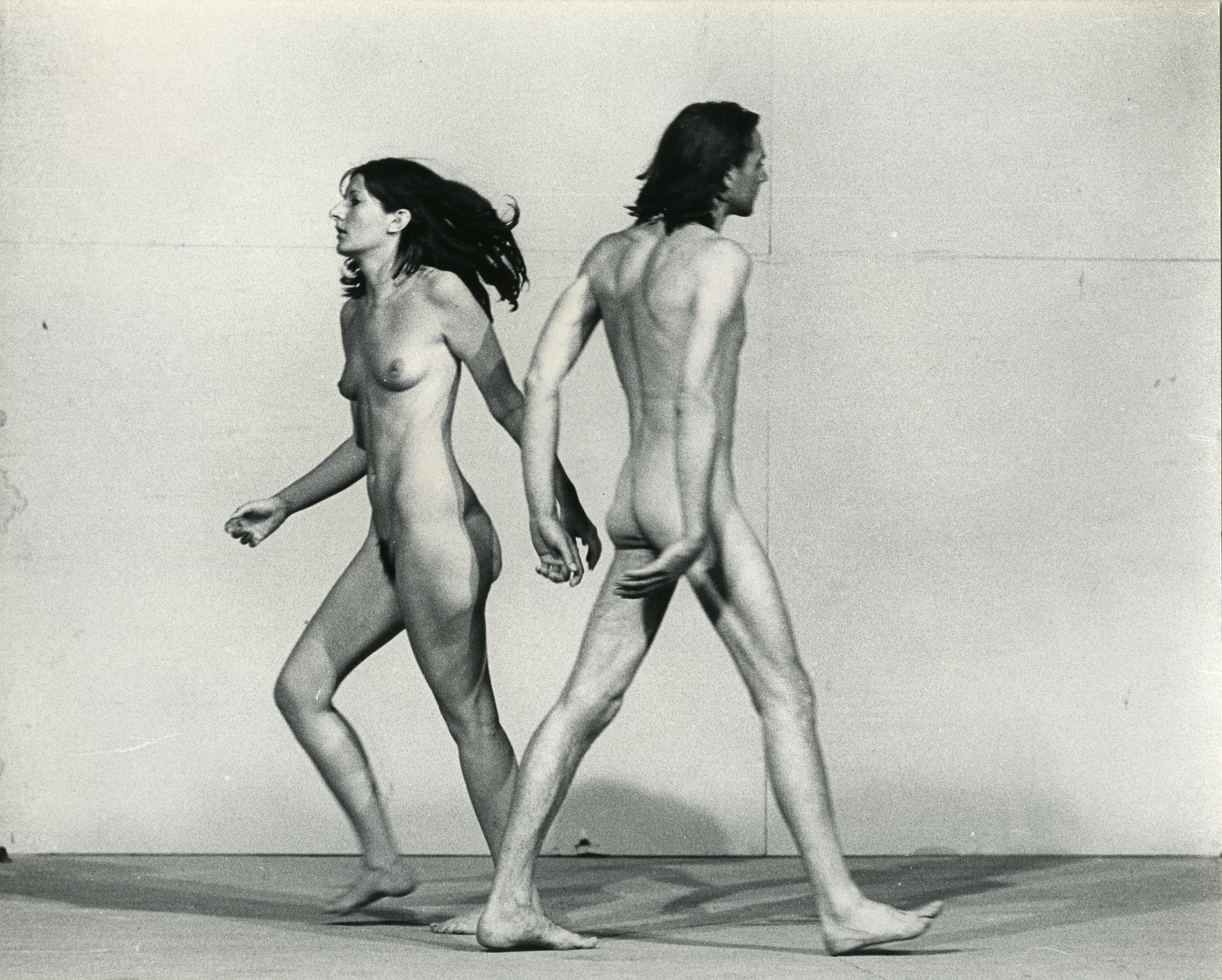Ulay/Marina Abramovi_ Relation in Space Performance 58 minutes XXXVIII Biennale, Giudecca, Venice July, 1976 © Ulay/Marina Abramovi_/Bildupphovsrätt 2017 Photo: © Jaap de Graaf Courtesy of the Marina Abramovi_ Archives